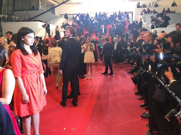 Ivana Noa attends the screening of 'Blood Father' at the annual 69th Cannes Film Festival