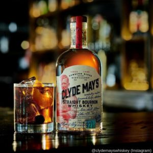 Clyde May's Straight Bourbon Whiskey