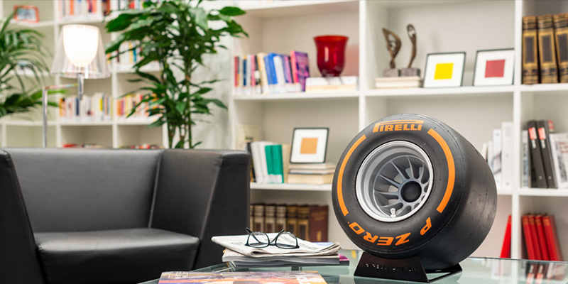Pirelli Wind Tunnel Tire Speaker by IXOOST