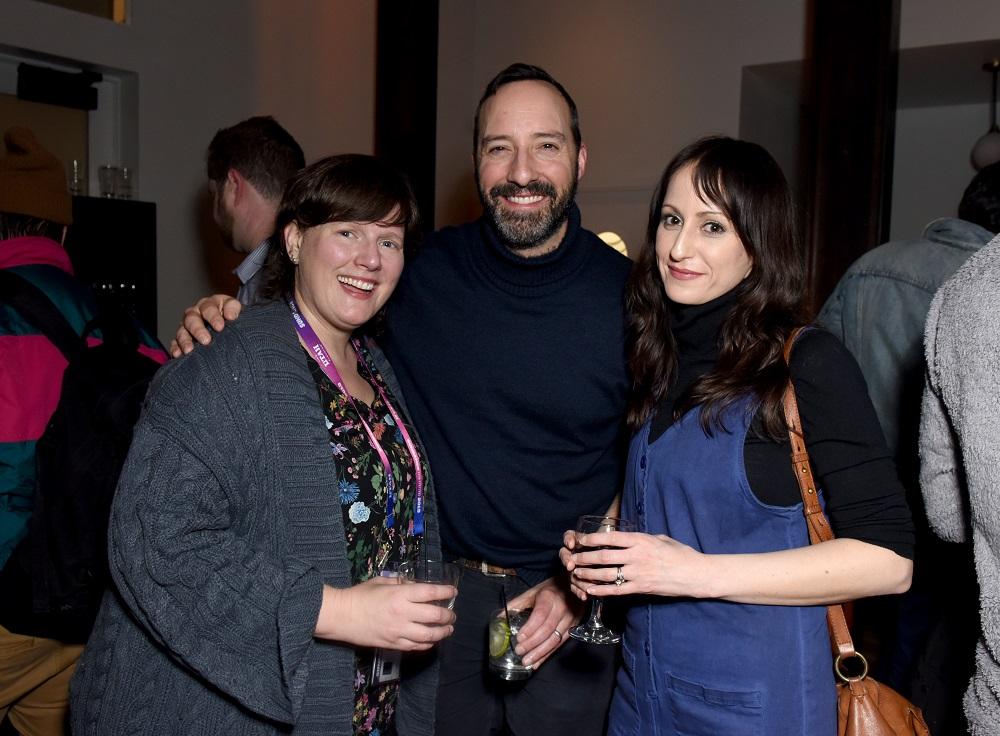 (L-R) Heather McIntosh, Tony Hale and Martha Stephens