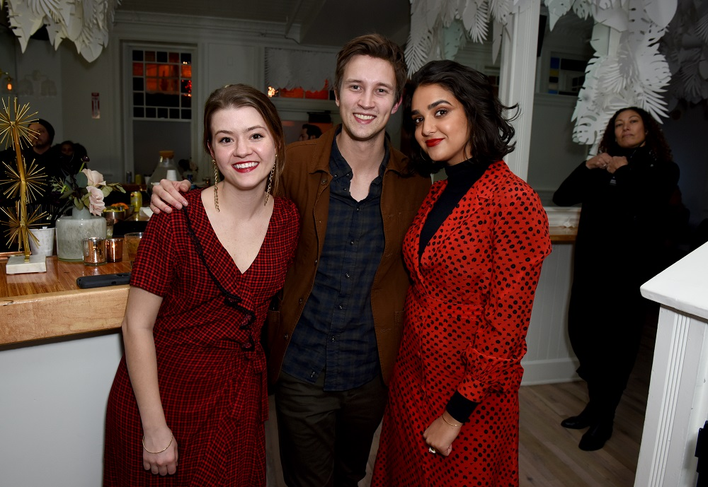 (L-R) Taylor Blim, Sam Straley, and Geraldine Viswanathan
