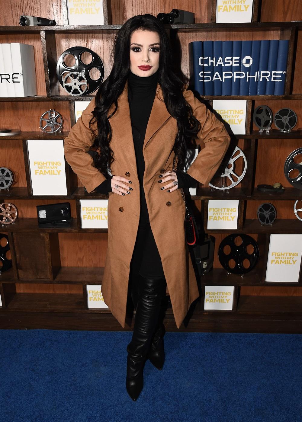 Actress Saraya-Jade Bevis