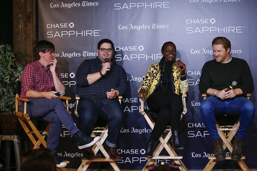 Abe Forsythe, Josh Gad, Lupita Nyong'o and Alexander England