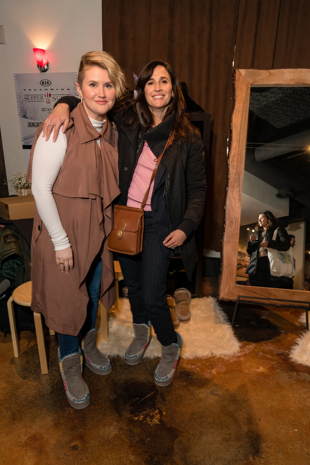 Jillian Bell and Michaela Watkins