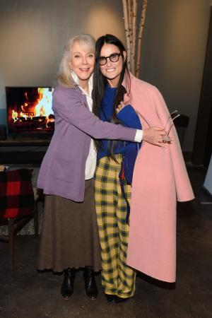 Demi Moore and Blythe Danner