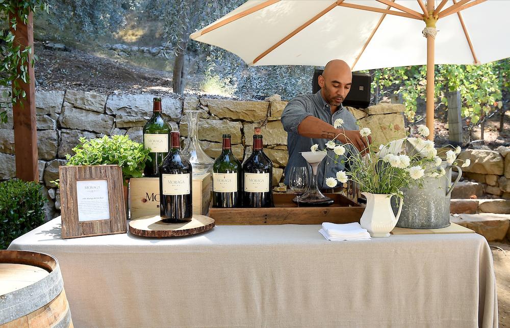 Moraga Vineyard In The Bel Air Hills