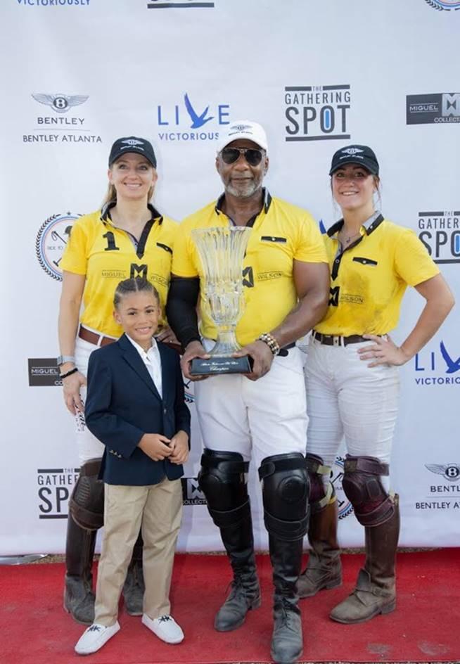 2nd Annual Atlanta Fashion & Polo Classic presents polo scholarship to Morehouse students